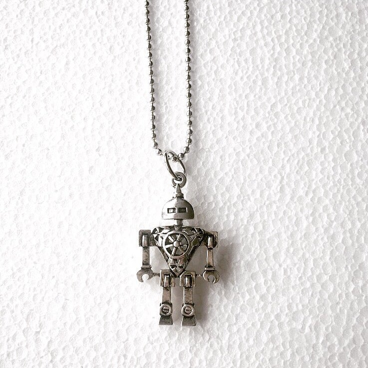 Image of KIDS : Robot Necklace