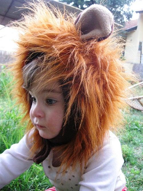 Image of Lion hat כובע אריה