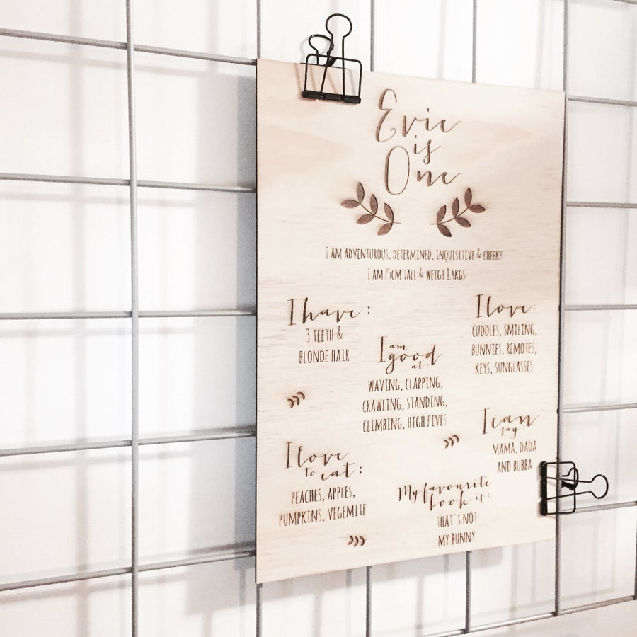 Image of BIRTHDAY BOARDS