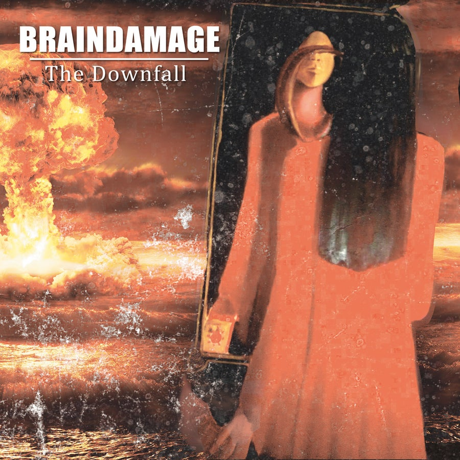 "Image of BRAINDAMAGE ""The Downfall"" CD"