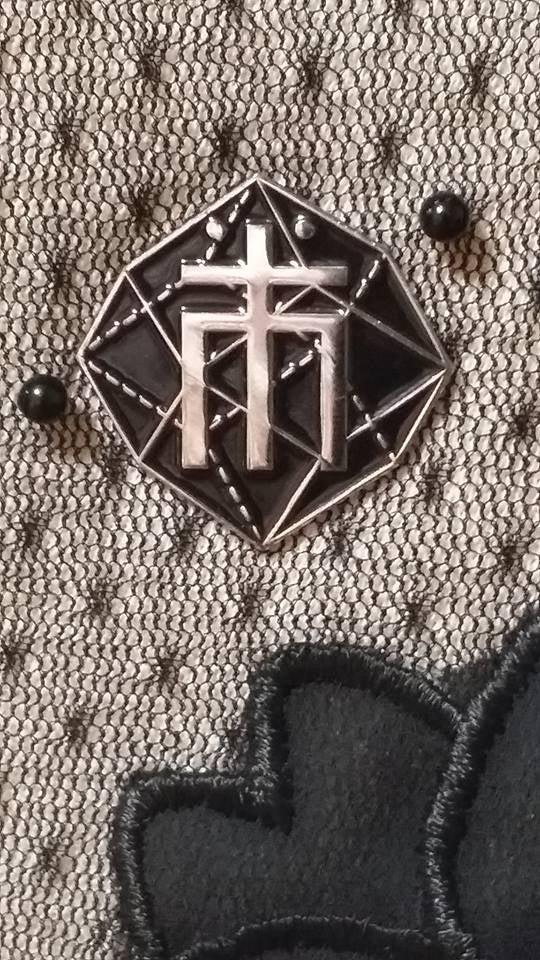 Image of Masses Enamel pin