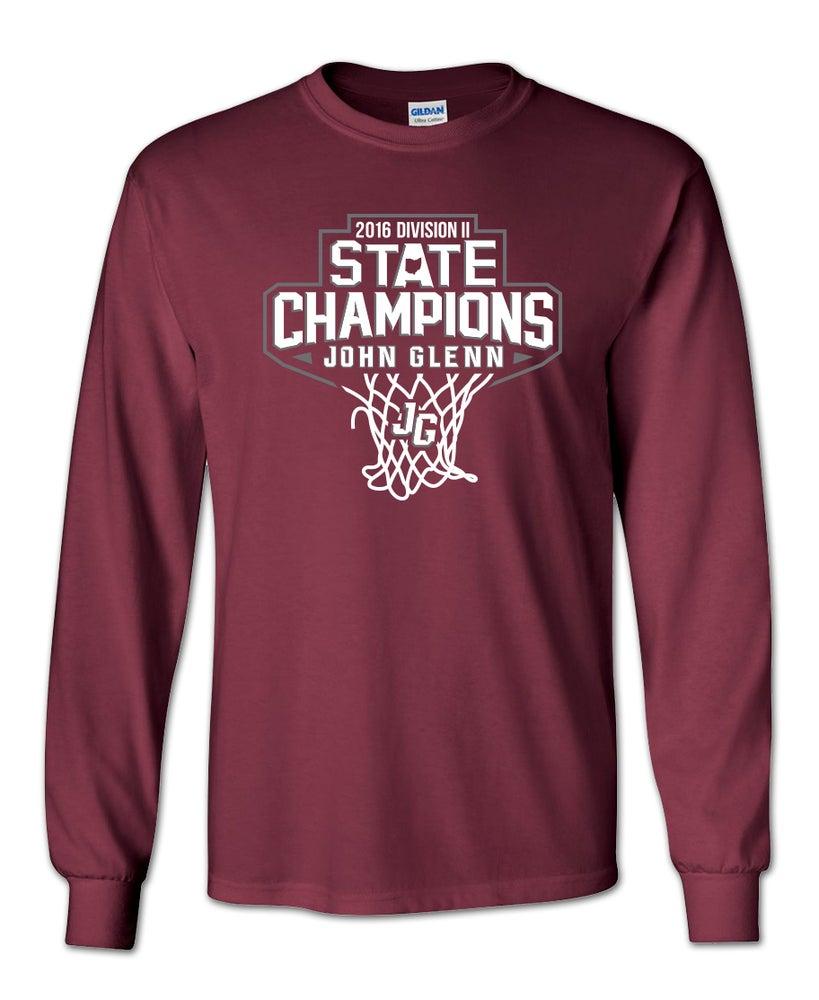 Image of John Glenn Muskies // 2016 State Champions (Long Sleeve T-Shirt)