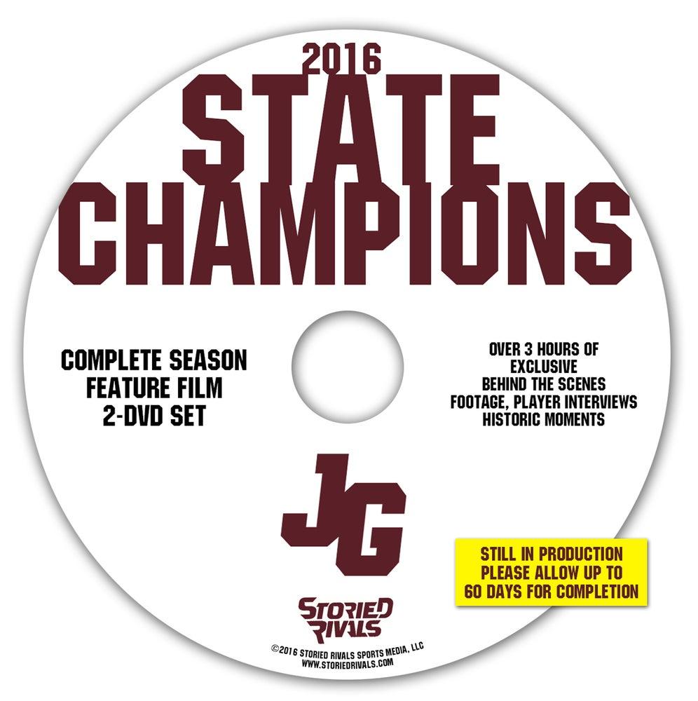Image of John Glenn Muskies // 2016 State Champions (DVD 2-DISC SET)
