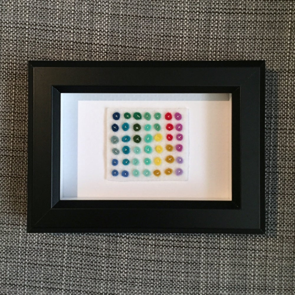 Image of tiny dot grid no. 2