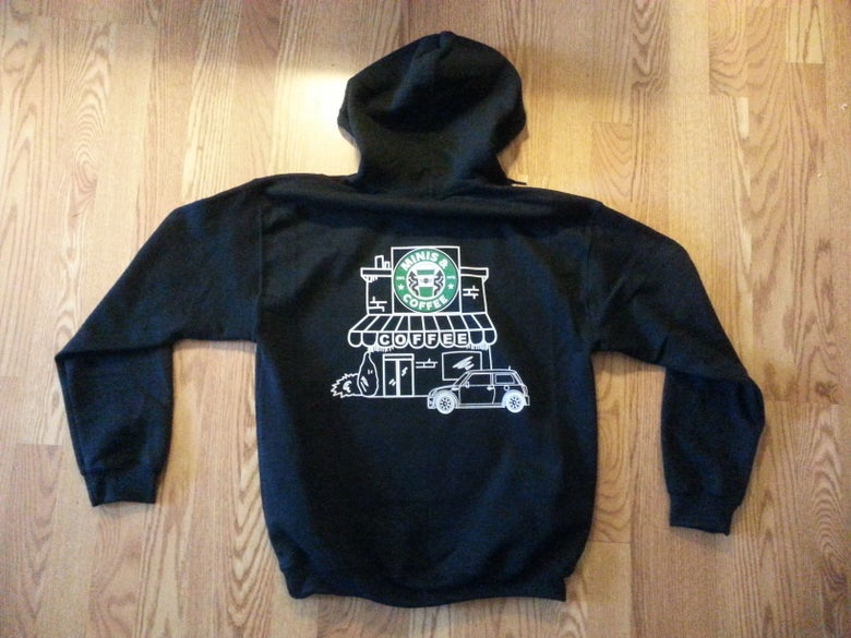 Image of MINIS & COFFEE PULL OVER HOODIE