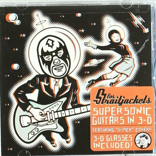 Image of LOS STRAITJACKETS: SUPERSONIC GUITARS IN 3-D CD