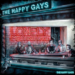 Image of THE HAPPY GAYS - Lonely Men In Love - LP version, CD included