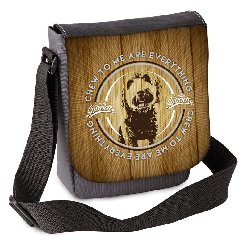 Image of 'Chew to me are Everything'  Spoodle Mini Shoulder Bag