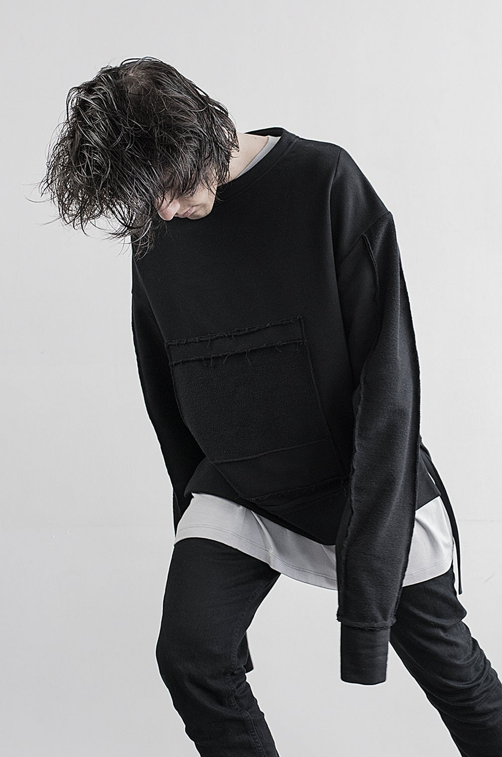 Image of Urban Flavours Mental Crewneck Black