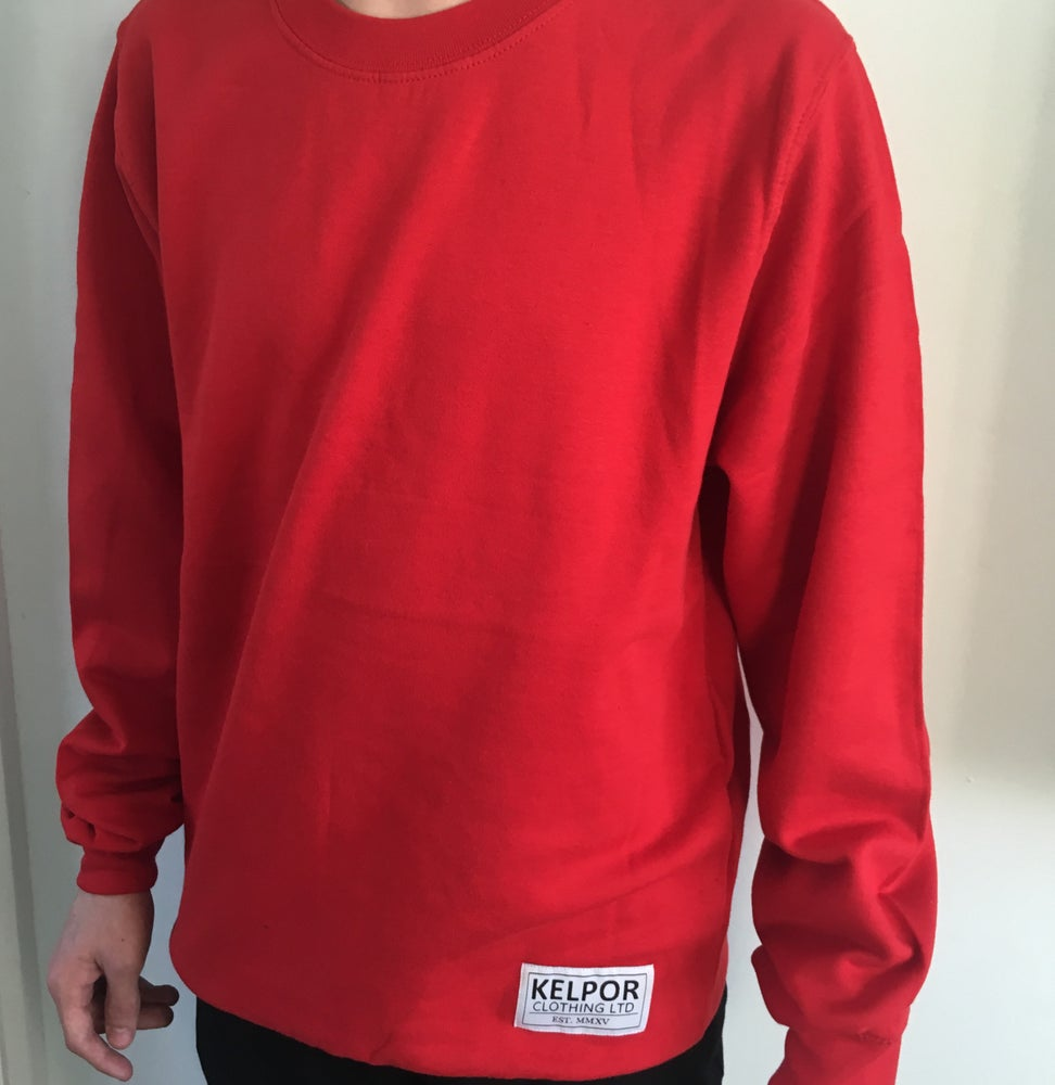 Image of Fire Red Sweatshirt