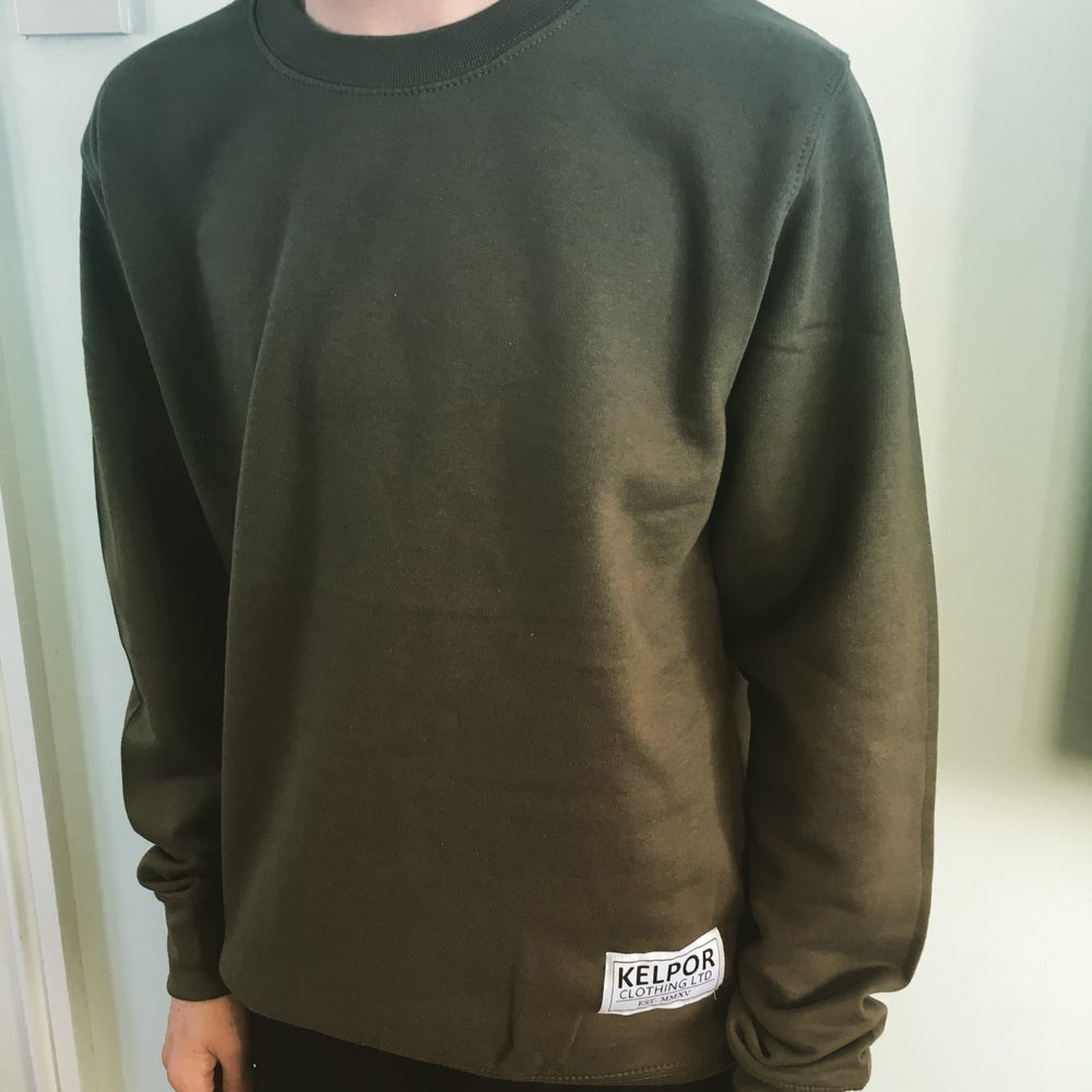 Image of Olive Green Sweatshirt
