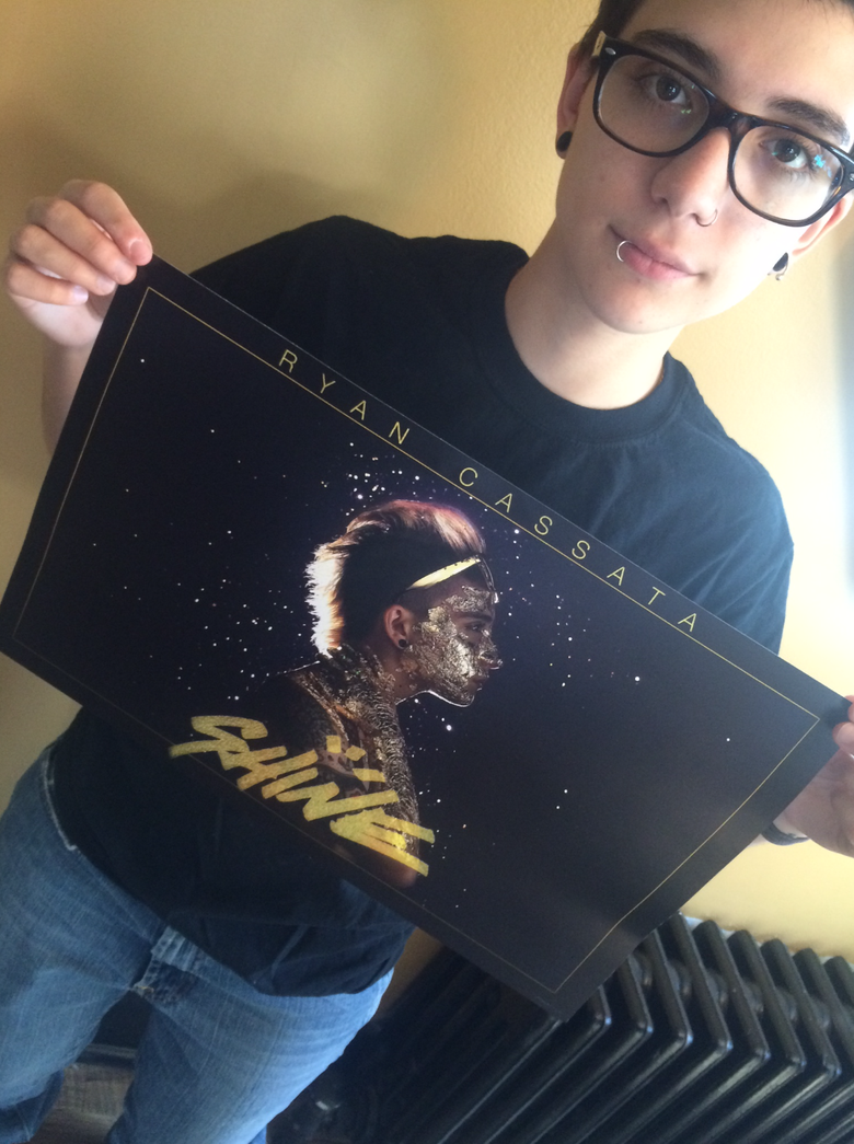 Image of AUTOGRAPHED SHINE POSTER!
