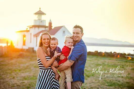 Image of Summer Outdoor Family Sunset Sessions