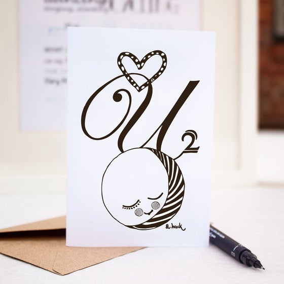 Image of Love you 2 the moon & back - cards