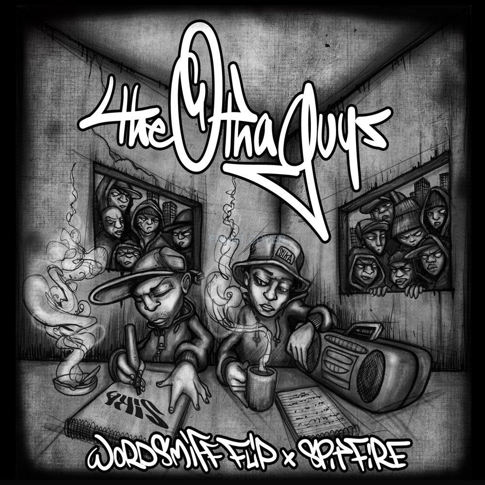 Image of THE OTHA GUYS CD (Wordsmiff FLIP + Spitfire) (SIKA records)