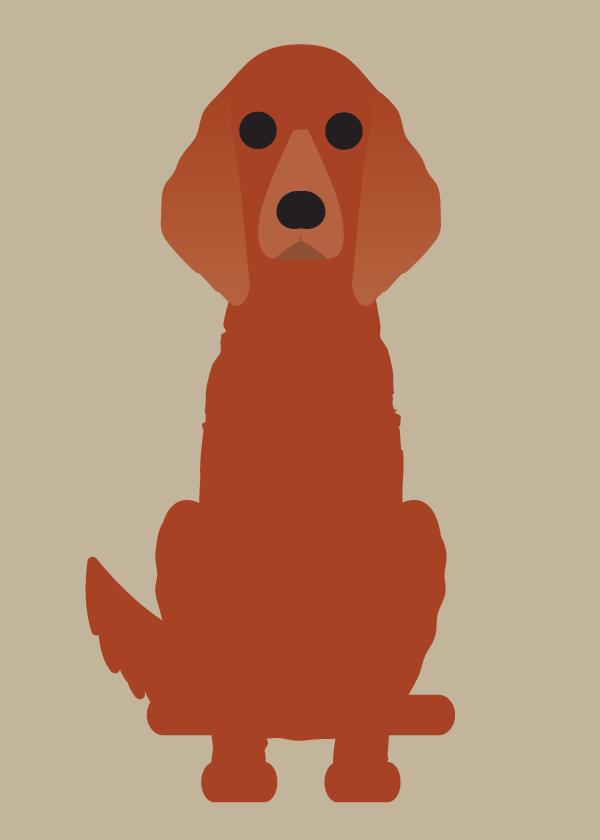 """Image of """"I- J-M"""" Dog Collection: Irish Setter, Irish Wolfhound, Jack Russell, Maltese, Mastiff"""