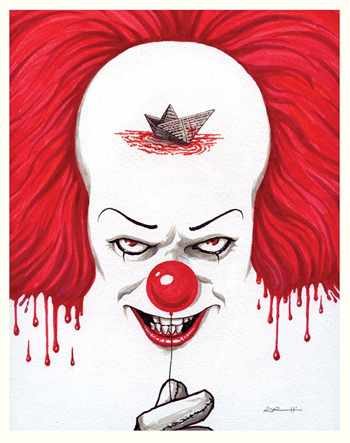 Gary Pullin — We All Float Down Here Leatherface Vs Jason Poster