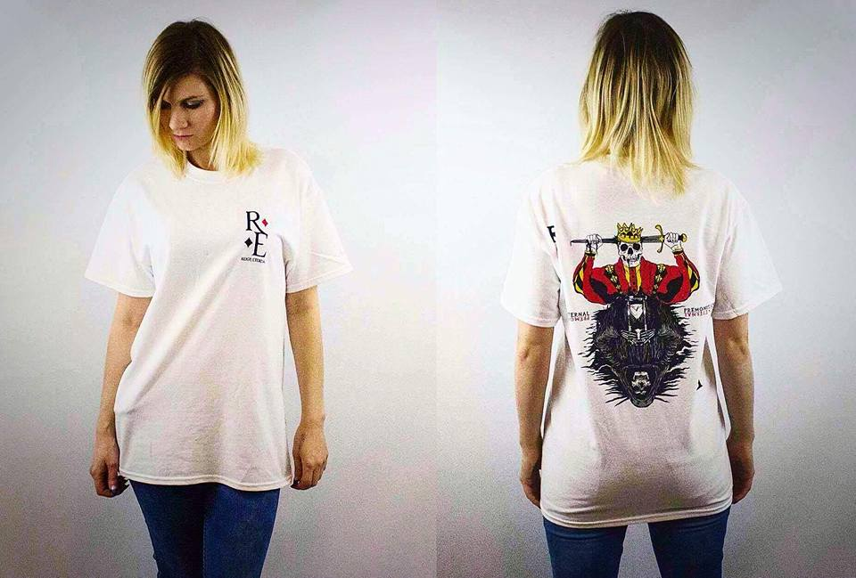 Image of PREMONITIONS T-SHIRT (WHITE)