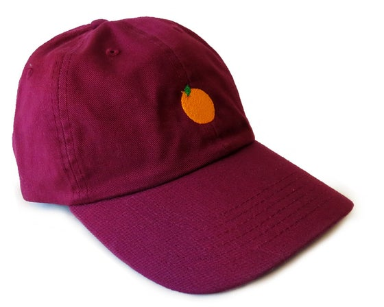 Image of Juicy Dad Hats (Ox Blood)