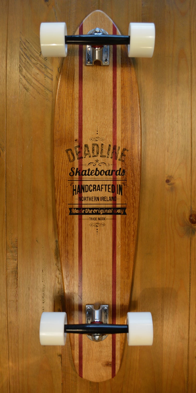 Image of Maverick Longboard (Purple Heart Edition)