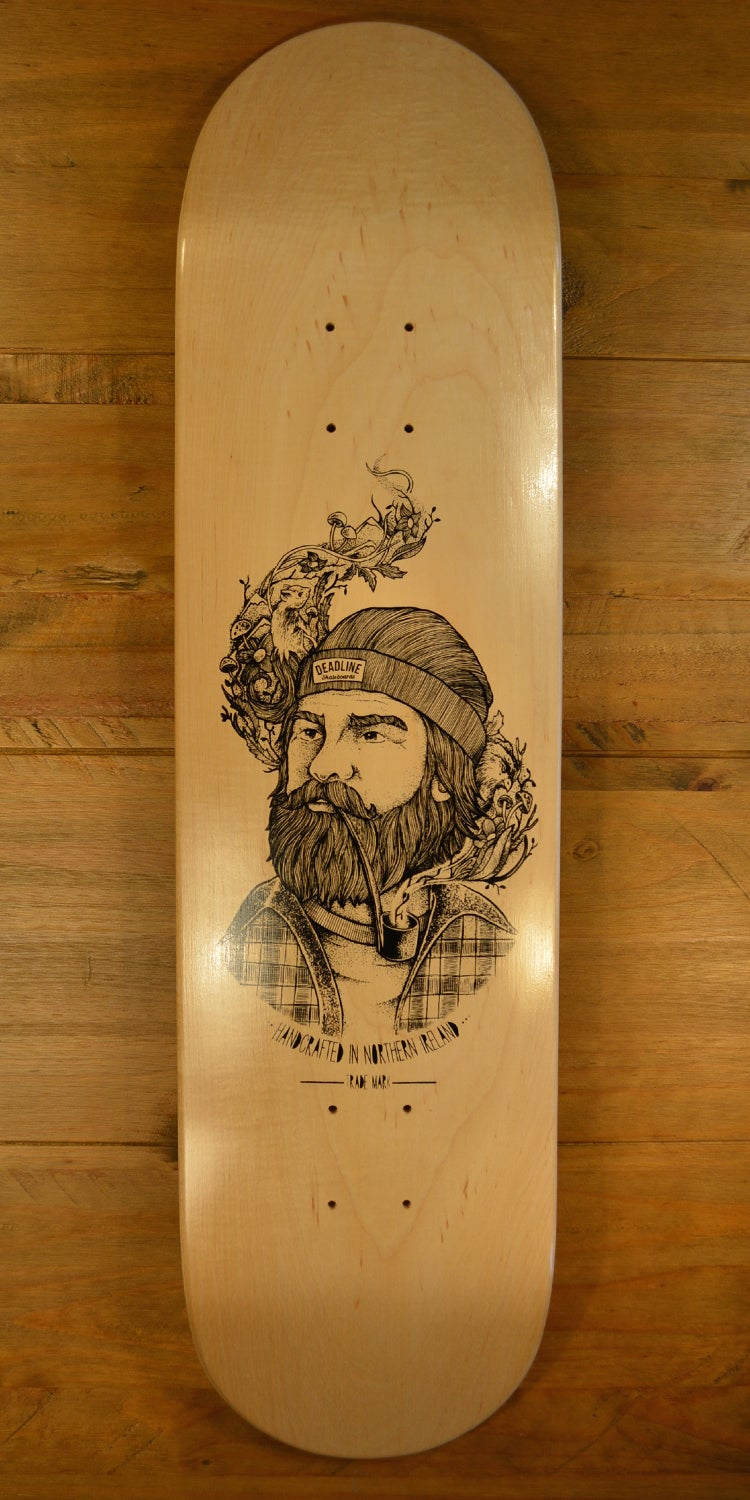 Image of Supertramp Skateboard Deck