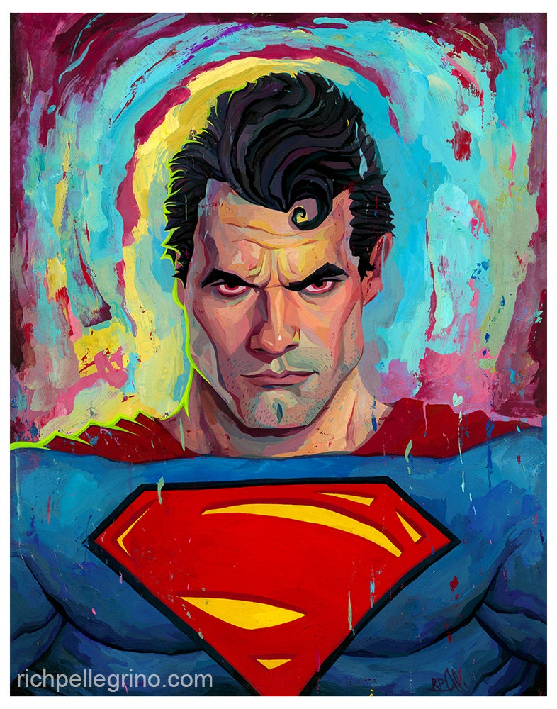 Image of Superman 11x14 Print