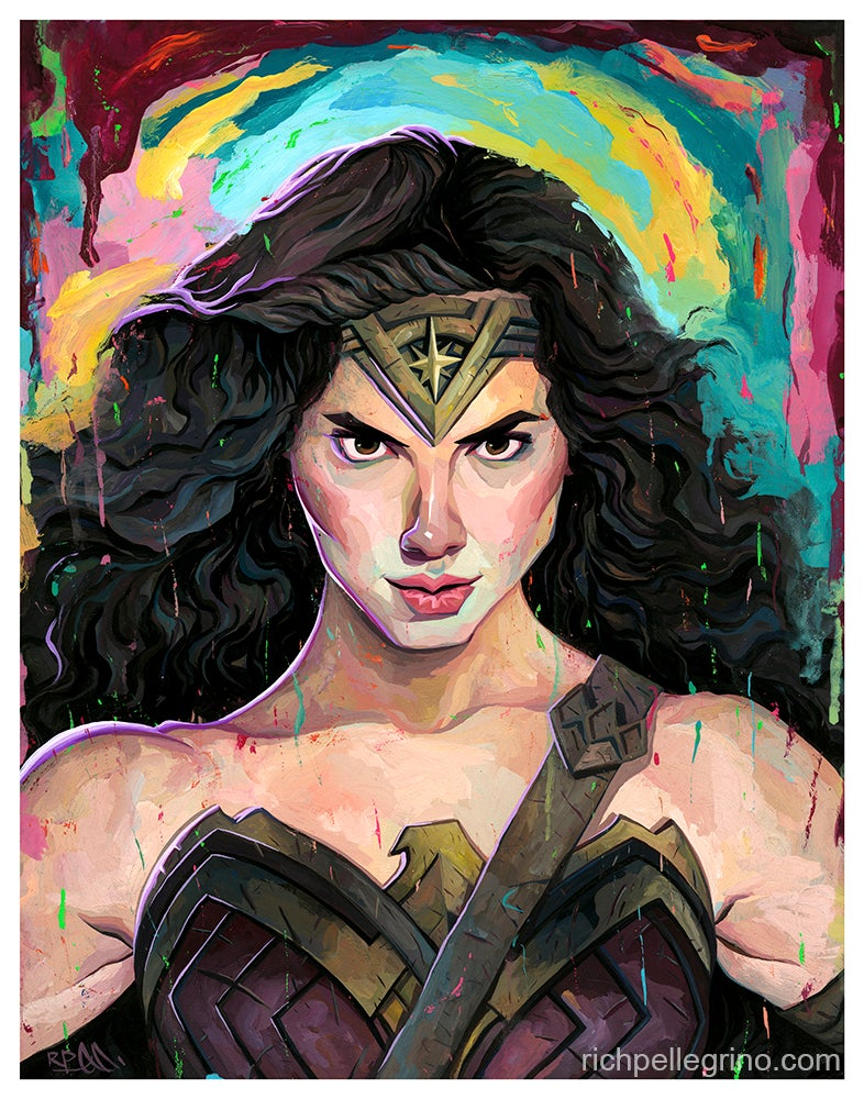 Image of Wonder Woman 11x14 Print