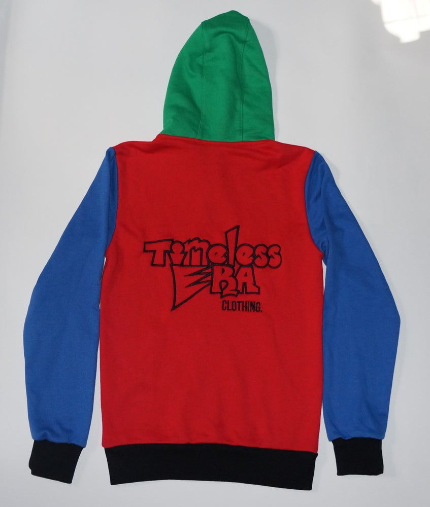 Image of 90's Color Block Sweatsuit