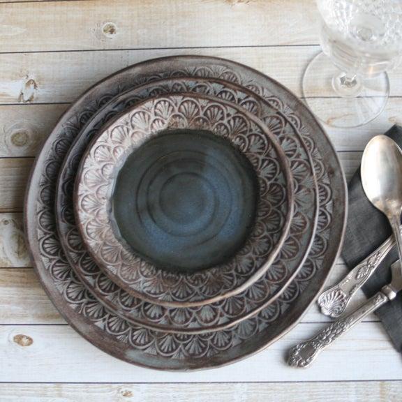 Andover Pottery Modern Handmade Dinnerware Stoneware