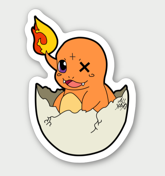 Image of Charmander Sticker
