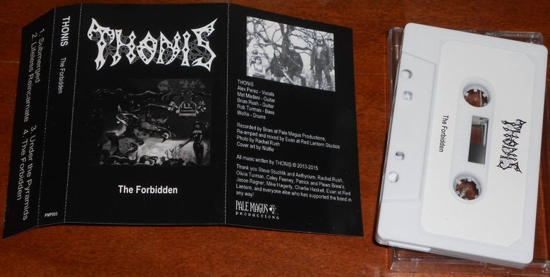 Image of Thonis - The Forbidden (Cassette)