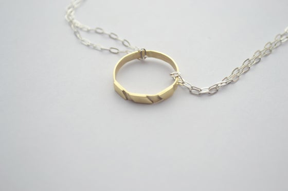 Image of THE ROSA GOLD NECKLACE