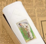 Image of Man's Handkerchief in a gift Box: Cricket