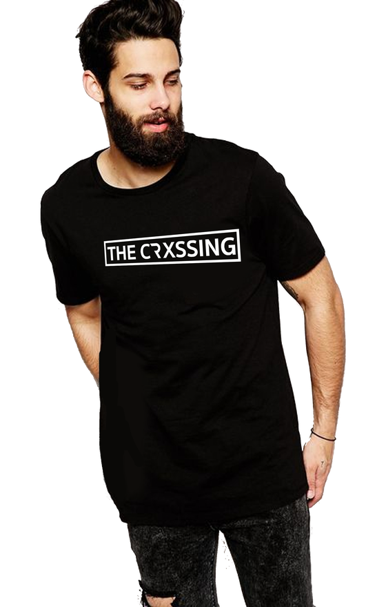 Image of The Crxssing Black T Logo