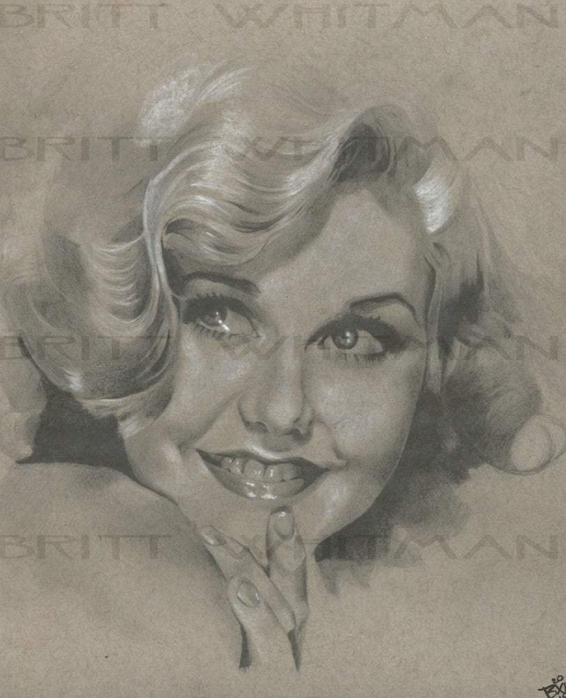 Image of Ginger Rogers by Britt Whitman