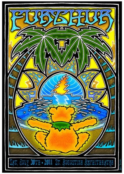 Image of Furthur St. Augustine Florida Poster 2011
