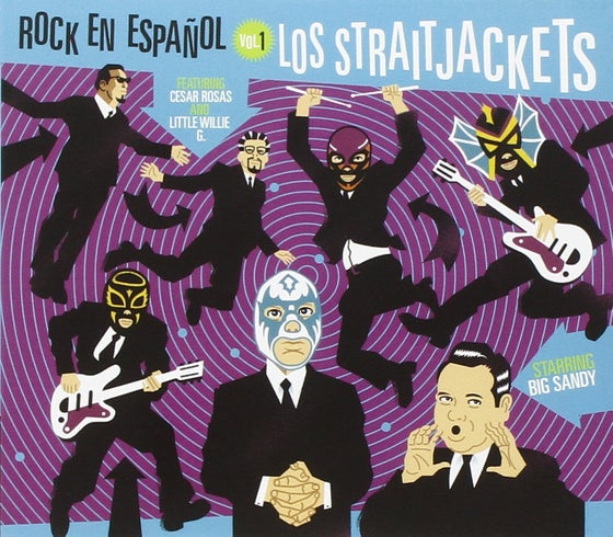 "Image of LOS STRAITJACKETS ""ROCK EN ESPANOL VOL ONE"" CD"