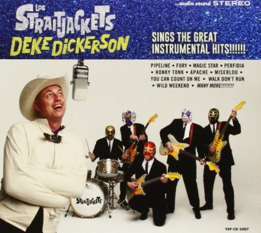 "Image of LOS STRAITJACKETS / DEKE DICKERSON: ""SINGS THE GREAT INSTRUMENTAL HITS"" CD"