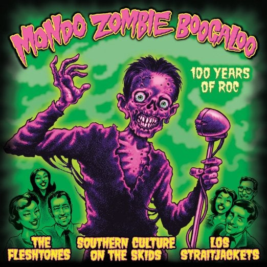 Image of MONDO ZOMBIE BOOGALOO COMPILATION CD