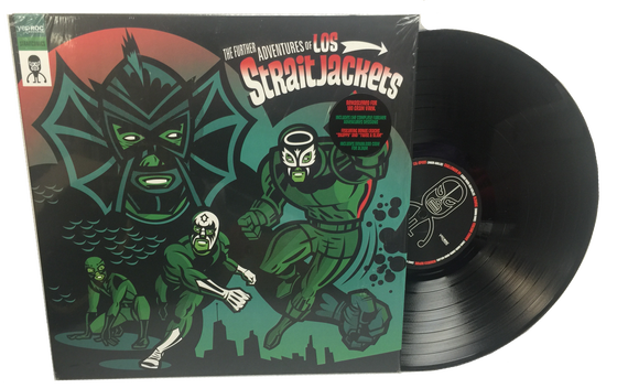 "Image of LOS STRAITJACKETS ""THE FURTHER ADVENTURES OF LOS STRAITJACKETS"" LP"