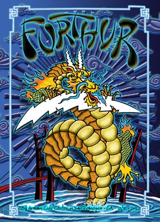 Image of Furthur New Years 12/31/2011 Lenticular