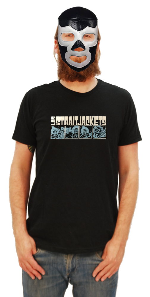 Image of LOS STRAITJACKETS OUTER SPACE T-SHIRT