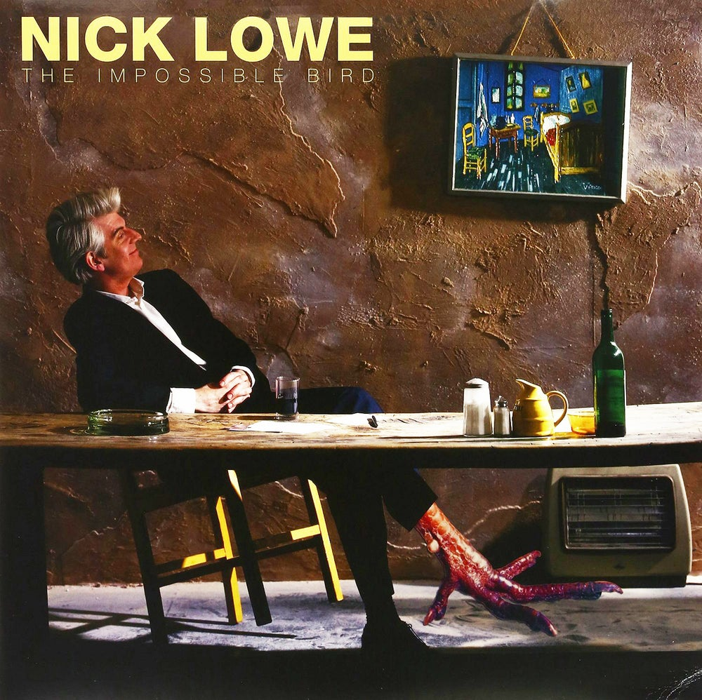 "Image of NICK LOWE ""THE IMPOSSIBLE BIRD"" LP"