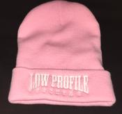 Image of LOWPROFILE Pink Beenie