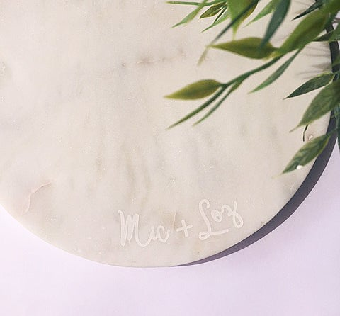Image of LIMITED EDITION Round Marble Platter