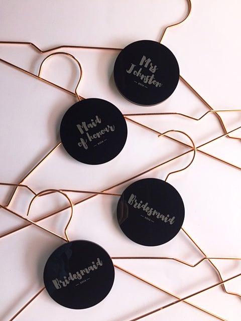 Image of Copper Coat Hangers [Adult + Children sizes]