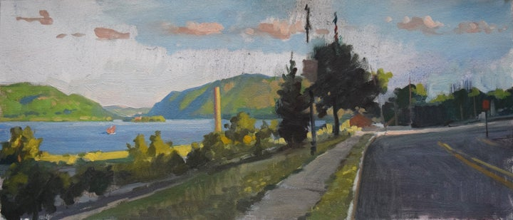 """Image of <font size=""""2"""">Paintings:</font><br>Afternoon Light on the Hudson"""