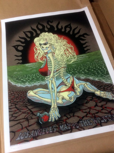 "Image of AudioSlave ""LA Sunblock"" Brown by Emek"