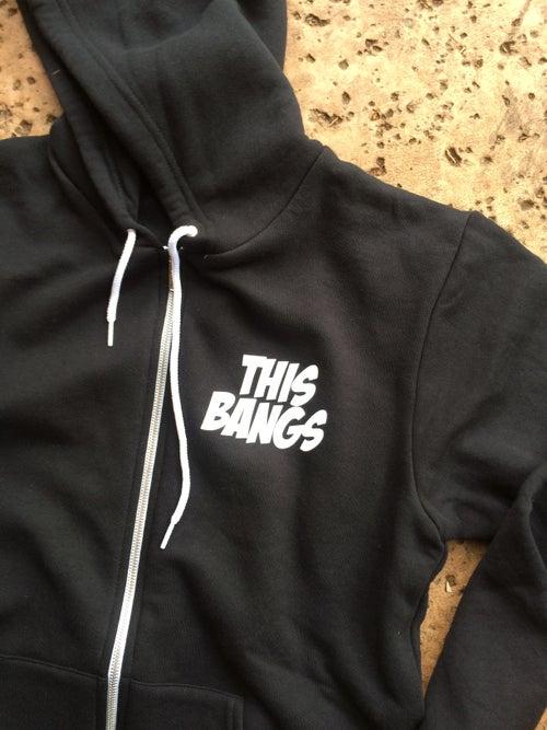 Image of This Bangs Unisex Flex Fleece Hood Zip Up