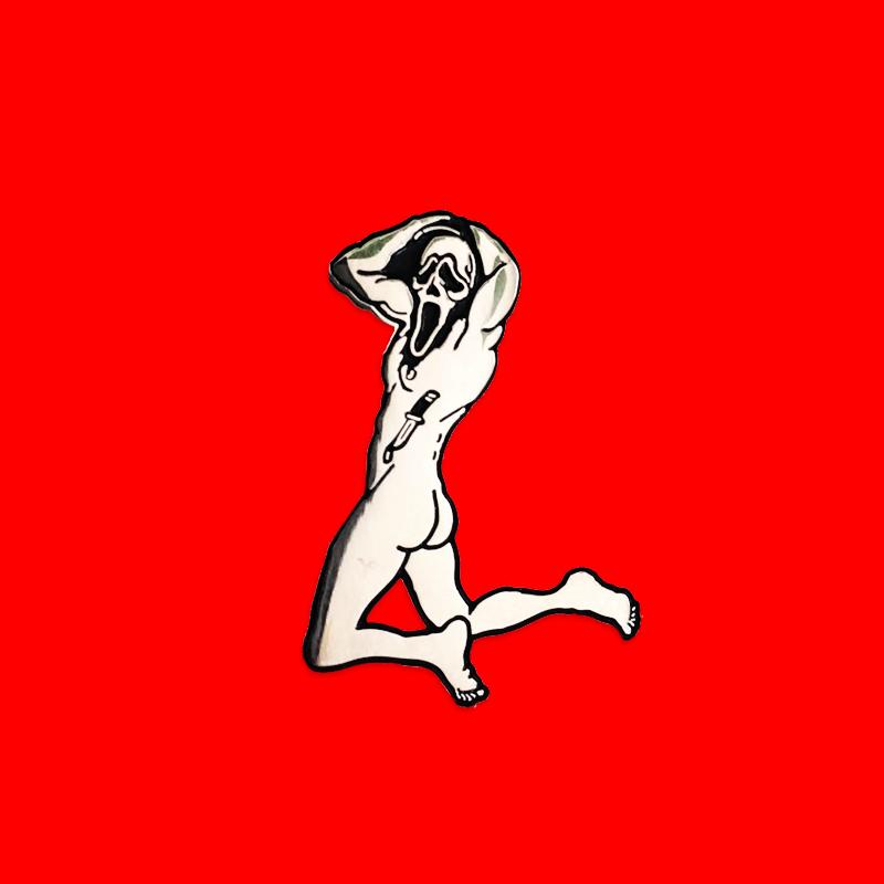Image of SCREAM 4 ME [enamel pin]